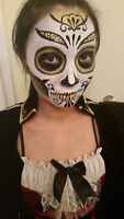 Halloween Makeup and Body Art, by Krizzy Art