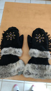 Leather Mitts