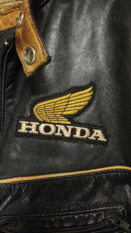 HONDA MOTORCYCLE LEATHER JACKETS MADE IN CANADA MENS / WOMENS