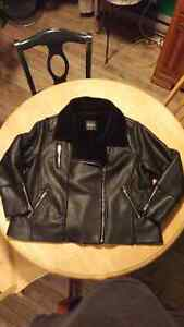 MBLM 2x Leather Look Coat