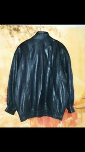 Vente Rapide Beau manteau de cuir pour Femme