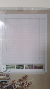 Faux Wood Blinds white NEW