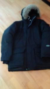Arctic-proof downfill Parka (Men's Medium size) - $100
