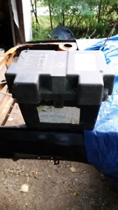 Strong box spare battery box