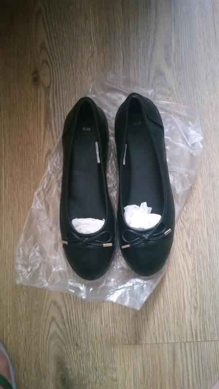 a698fe77ff6 Black Dolly wedge shoes ,size 6 | in Barnstaple, Devon | Gumtree