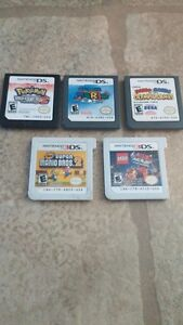 NINTENDO DS AND 3DS GAMES FOR SALE!! MARIO AND POKEMON