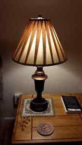 Standing lamp and side table lamp