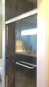 Shower glass door - removed ready to go