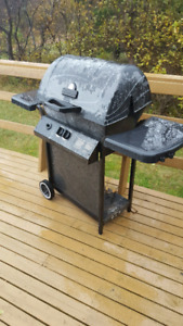 Old bbq with propane tank $25