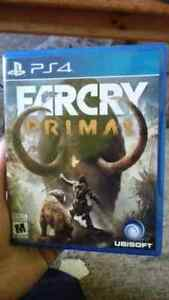 Selling far cry primal for ps4 for 50