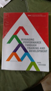 Managing Performance through Training and Development 7th editio