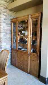Dining Buffet and Hutch