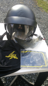 For Sale - SCORPION EXO-100 Motorcycle Half Helmet