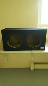 Sony sub box for 2 12s