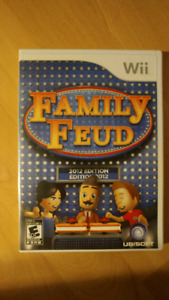 Family Feud 2012 Edition Wii