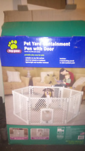 Portable Pet Containment System