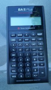 BA II Plus Professional calculator