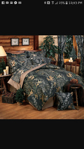 Brand New Double Camo Bedding