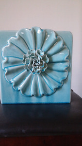 Teal vase from pier 1 size 12x12""