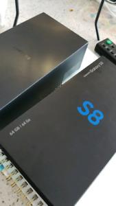 Samsung s8 jet black 64g
