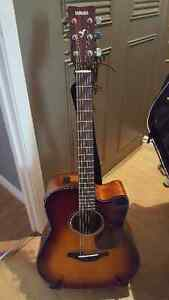 Never been used Immaculate condition Acoustic Electric Yamaha Gu