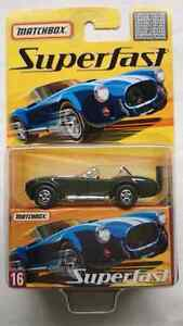 MATCHBOX SUPERFAST 1965 SHELBY COBRA 427 S/C LIMITED EDITION