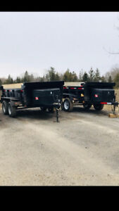 Dump Trailers For Rent