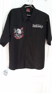 MAC TOOLS SHORT SLEEVE BUTTON MECHANICS SHIRT