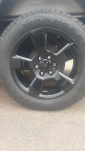 "Rim Package 2018 Black 20""inch Chev Gmc 1500"