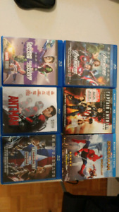 Collection 11 movies Bluray (Avenger, Spider Man, Aliens and mor