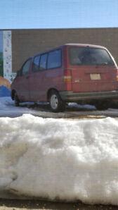 1992 Ford Aerostar Minivan, Van