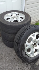 Gotta make room in the shed - All Season Tires: 235/65/17