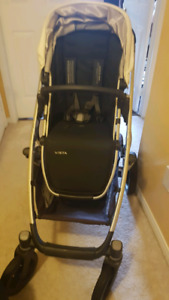 2016 uppababy vista stroller and bassinet