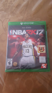 Brand New NBA 2K17 for Xbox One STILL IN THE PLASTIC WRAPPING!!