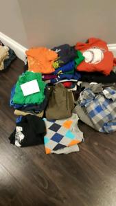 Boys size 7 and 8 clothing bundle