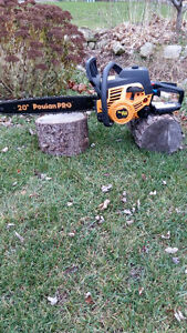 """20"""" Poulan Pro Chain Saw - 2 available"""