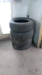 275/65R18 Goodyear Wrangler Fortitude only 8000km's