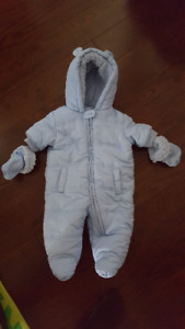 Baby winter jacket 0-3 months.