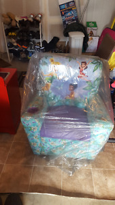 Tinker bell reclining toddler chair