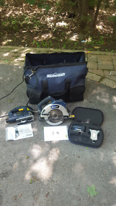 MUST SELL!! Mastercraft Package Circular saw and Nailgun Peterborough Peterborough Area image 1