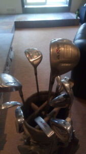 Ladies Left Handed AMF Golf Clubs