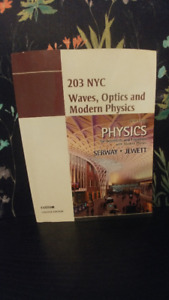Waves, Optics and Modern Physics 9th Edition. Serway and Jewett