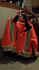 Mens Spring/Fall Safety Jacket, never worn