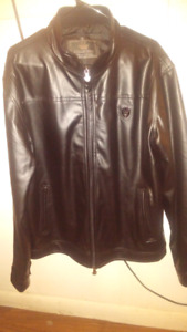 Mens leather coat for sale mint condition