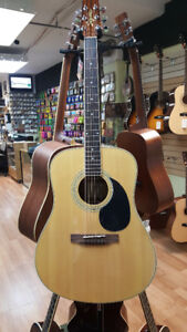 Brand new Acoustic Guitars on sale!
