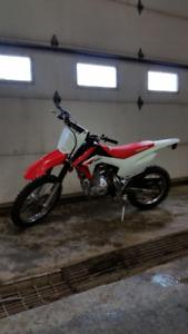 Honda crf 125 four stroke dirt bike.2014 like new