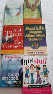 Dating, high school, teenagers...6 books!