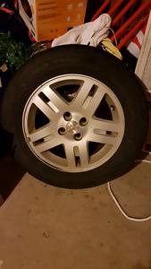 Cobalt rims and summer tires for sale!