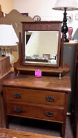 Antique Makeup Desk - Used