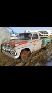 Parting out 1965 GMC